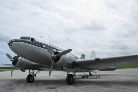 DC-3, Tongatapu Airport