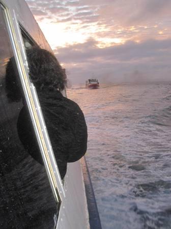 Ferry ride from Eua to Nuku'alofa in Tonga