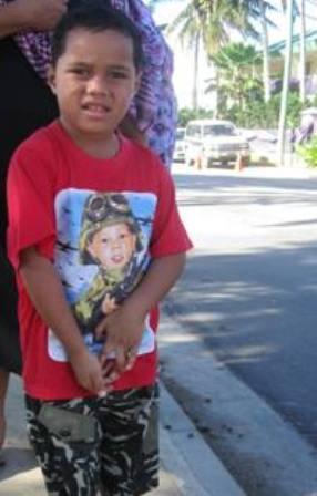 machine gun boy. Tonga T shirts