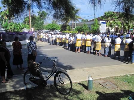 Open of Parliament Parade in Nukualofa, Tonga