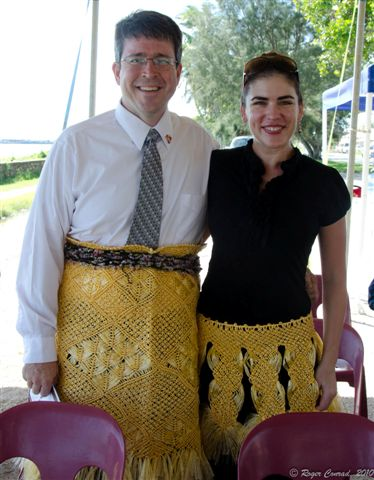 Tonga Time: Sam and J.L. McCreedy at Peace Corps 50th Anniversary