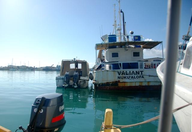Nukualofa harbor.tonga