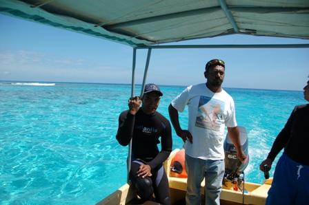 Captain of the Sea Angel, whale watching tours.Nukualofa, Tonga