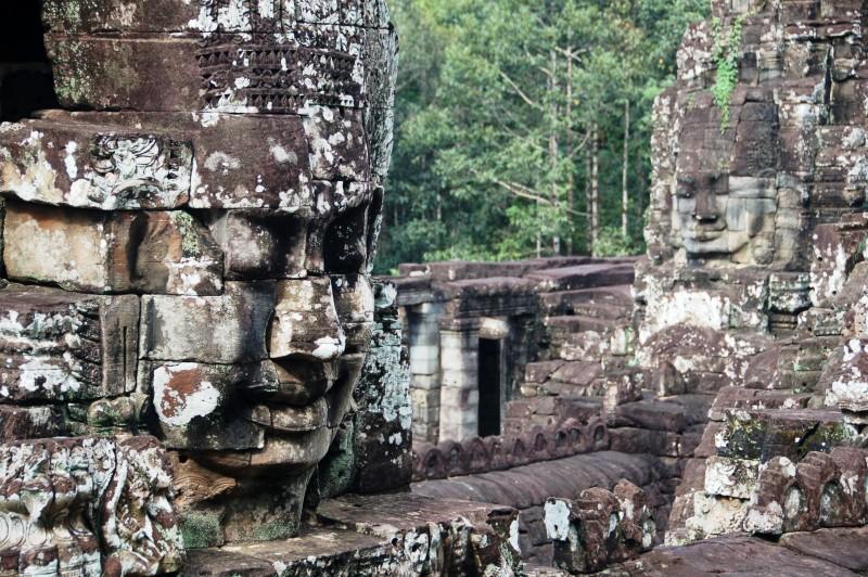 Angkor Thom.Bayon (26)