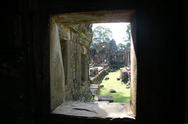 View from inner temple at Banteay Kdei
