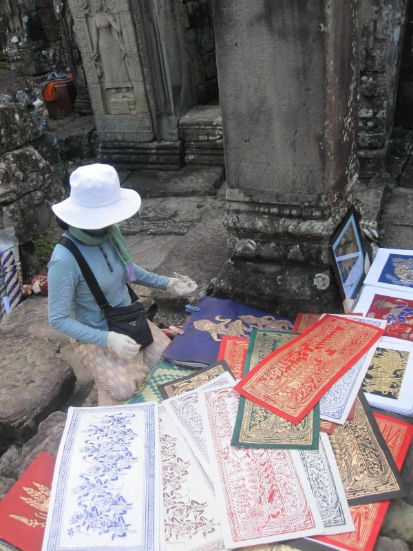 Banteay Kdei Vendor