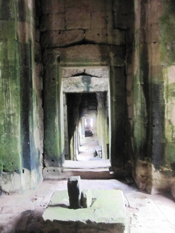 Linga and Yoni at Bayon.Angkor Wat.Cambodia.TongaTime