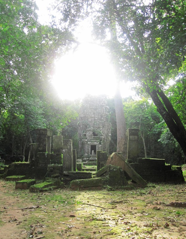 Chapel of the Hospital.Angkor Wat. Cambodia