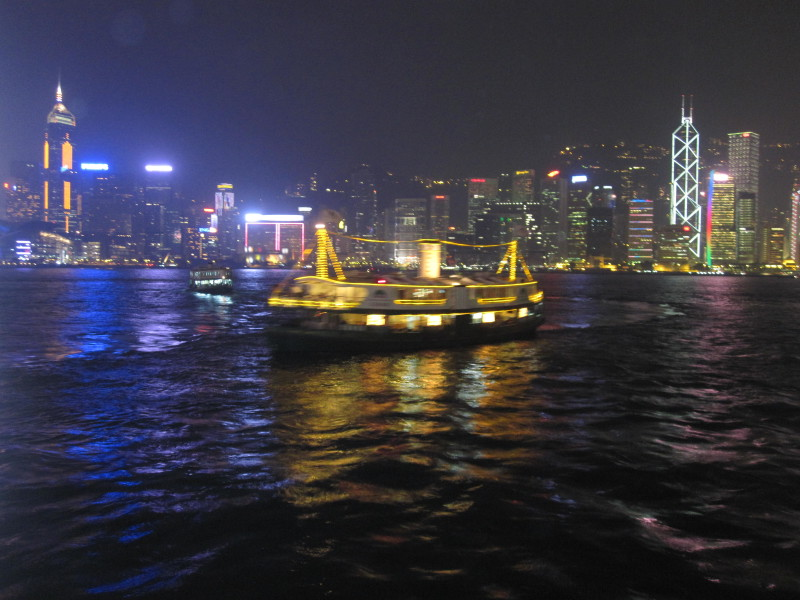 Star Ferry from Kowloon to Hong Kong Island (8)