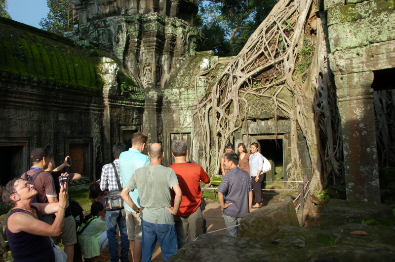 Tomb Raider Setting at Ta Prohm?
