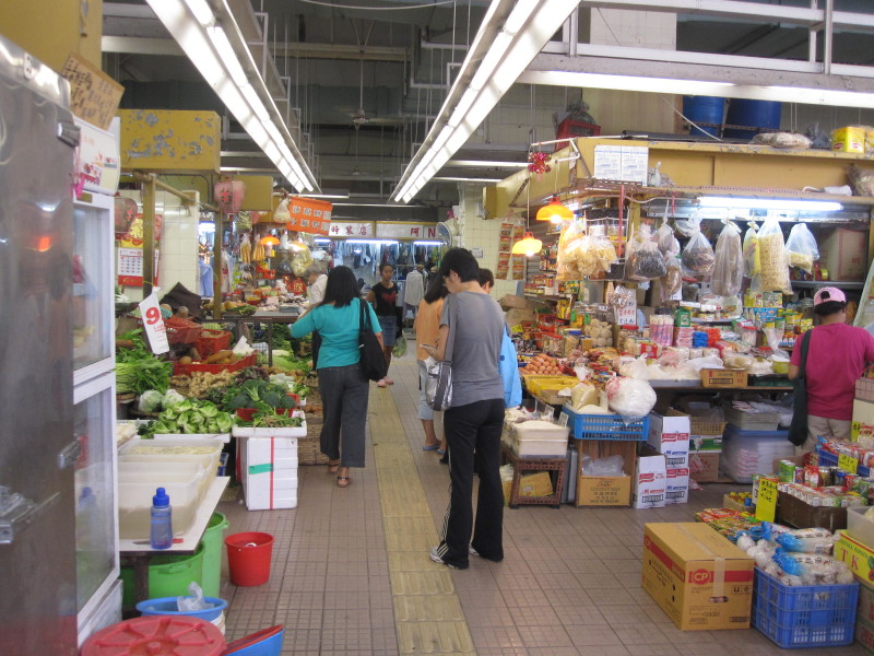 Food Market in Happy Valley Area