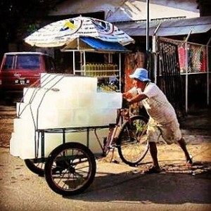 balikpapan ice truck! instagood indonesia kalimantan borneotravel seasia2015 indotravellers day