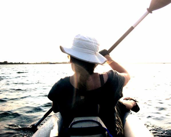 Kayaking to Manima from Nukualofa,Tongatapu Tonga