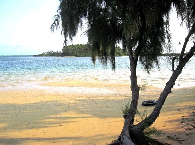 View from Manima Island, Tonga