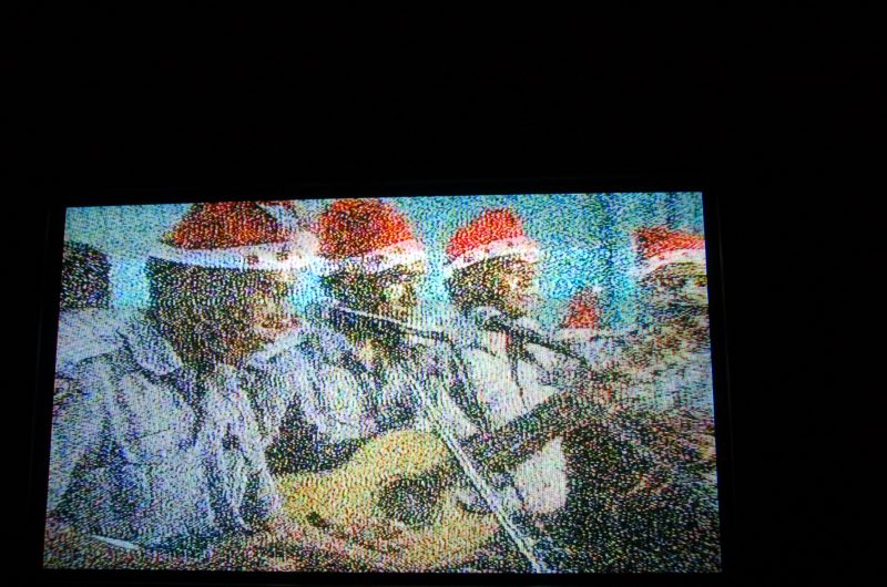 Police Band on Tonga TV at Christmas