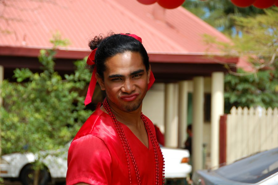Fakaleiti at Ikale Tahi Luncheon, USP Nukualofa, Tonga