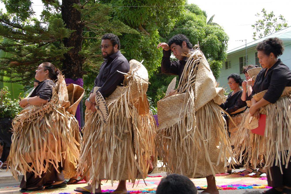 Procession at King George Tupou V's Funeral, Nukualofa, Tongatapu Tonga