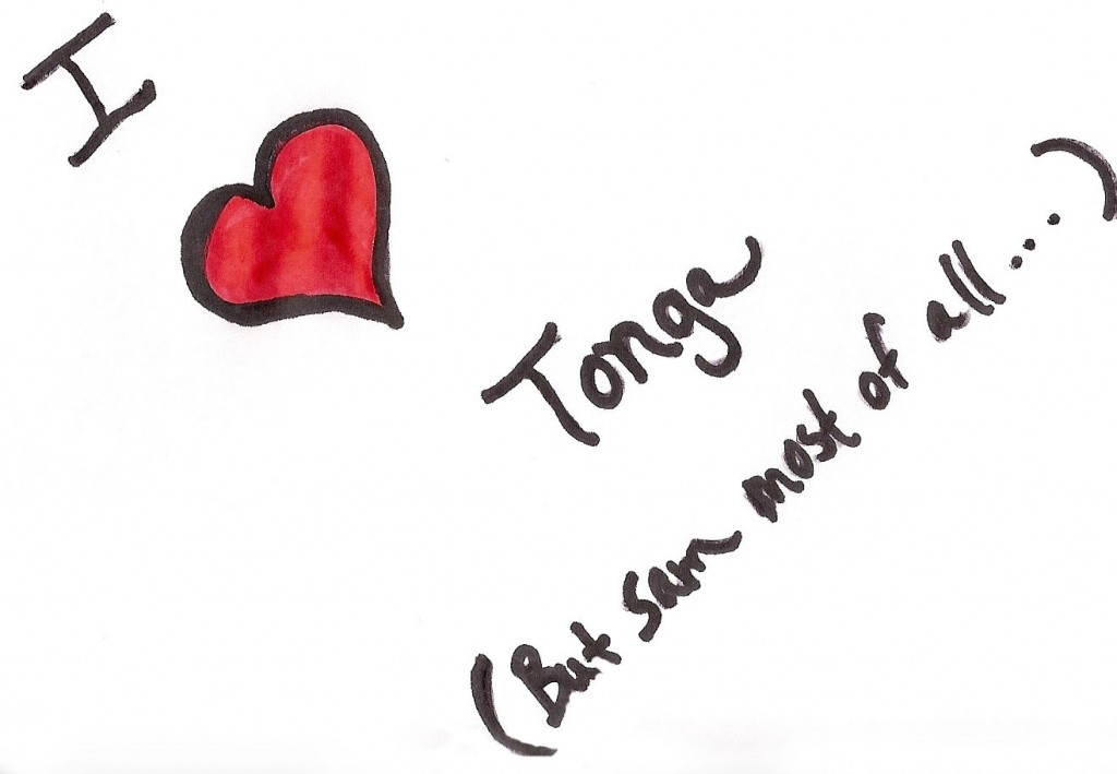 I love Tonga