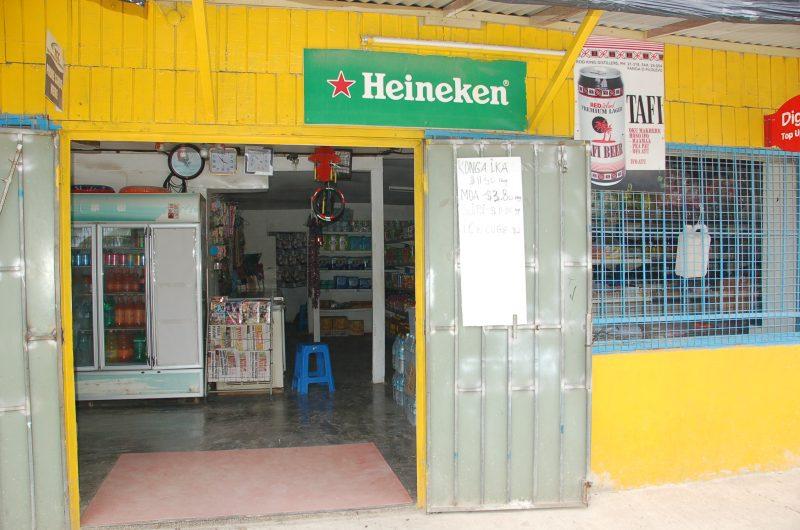 Fancy Fale Kaloa (Roadside convenience shop) in Tonga