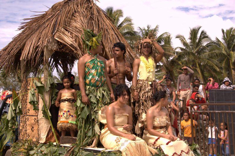 Miss Heilala Festival, Nukualofa, Tongatapu, Tonga