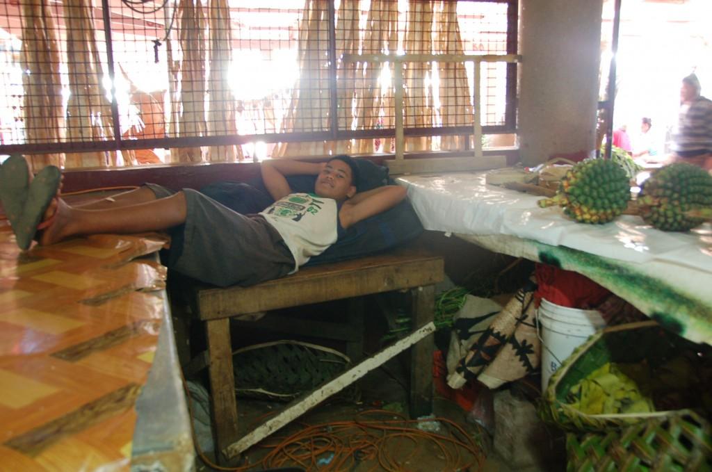 Marketplace in Nukualofa, Tonga
