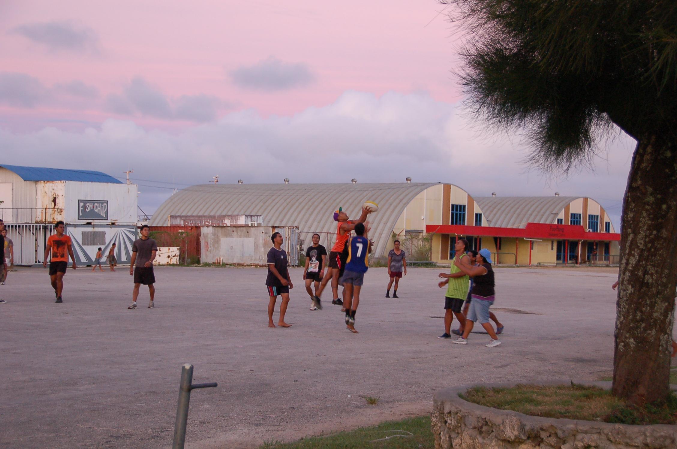 Twilight Rugby in Nuku'alofa, Tonga