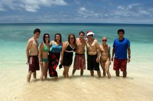 Volunteer visit in Ha'apai