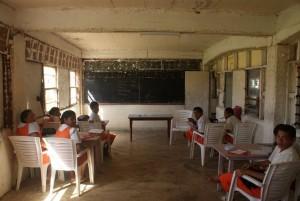 My form 4 classroom.