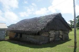 A kava house in Faleloa