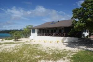 Matafonua Resort. The best restaurant in Ha'apai. Run by a great couple.