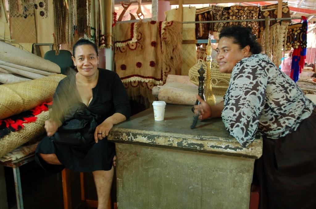 Catching up at Meketi Talamahu