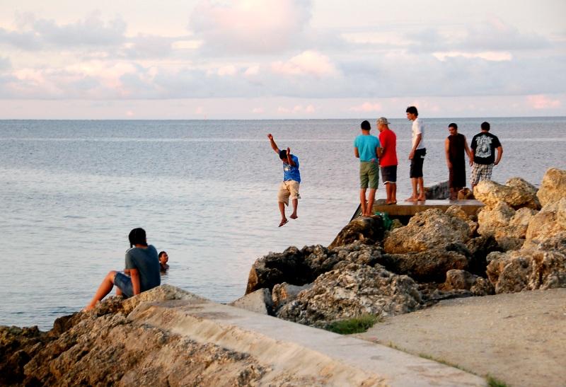 Diving at American Pier.Tongatapu Tonga