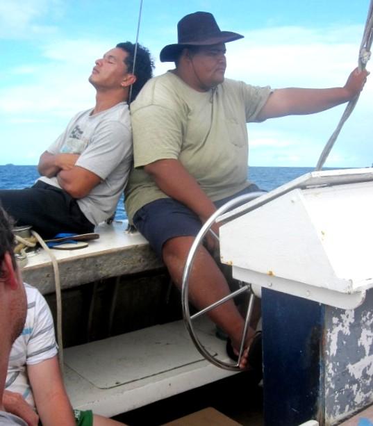Ferry from Fafa Resort to Nukualofa Tonga