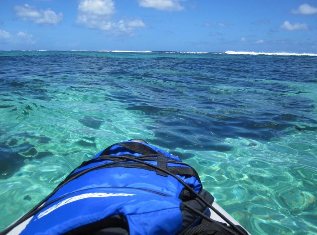 Kayaking around Ha'atafu Beach Reserve