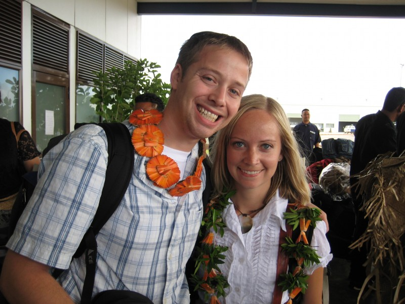 Kate and Brett Asleson, Returned Peace Corps Volunteers in Ha'apai, Tonga
