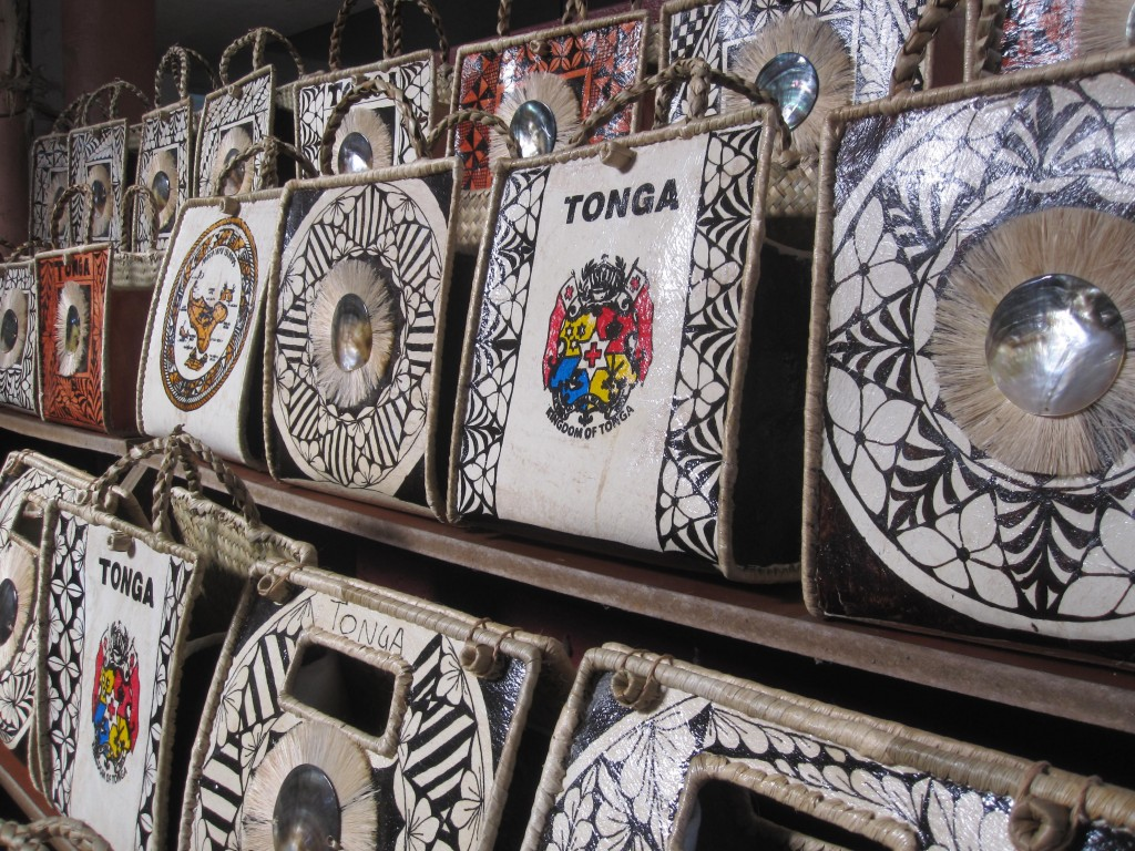 Purses made from Tapa