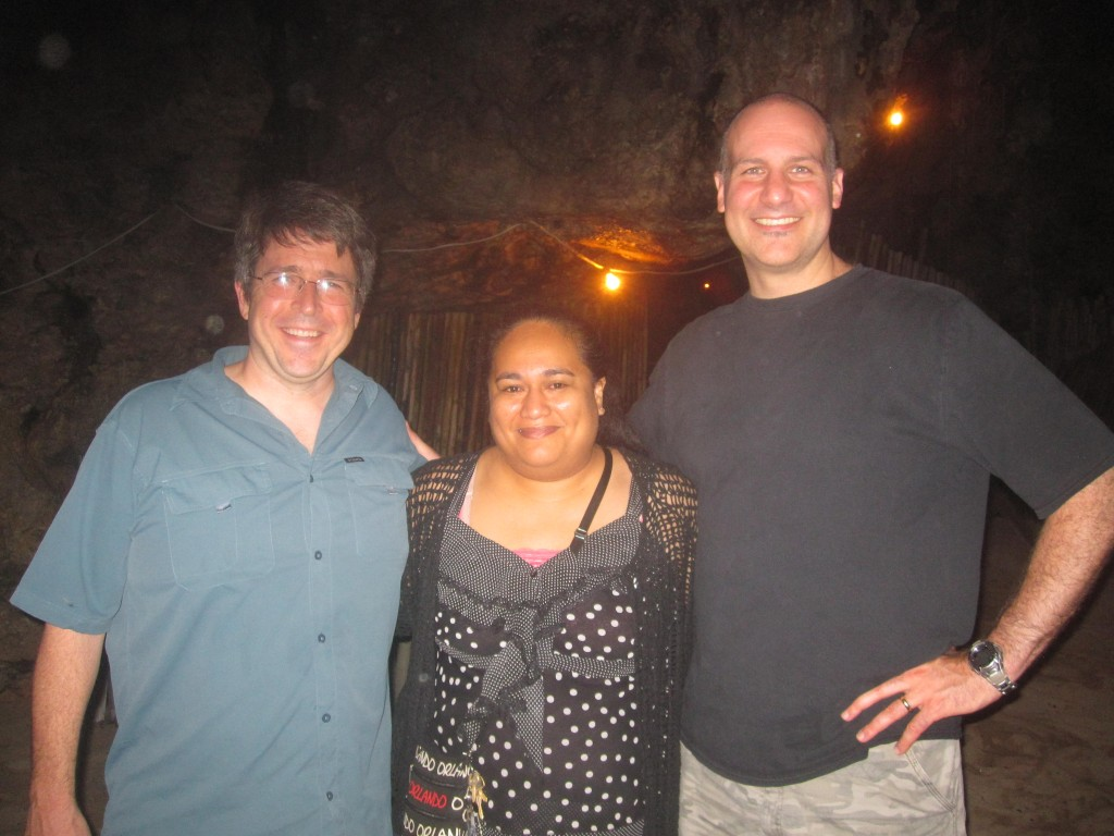 Hina Cave: America's Medical Presence in the South Pacific: Dr. Sam, Jacinta and Dr. Dickman!