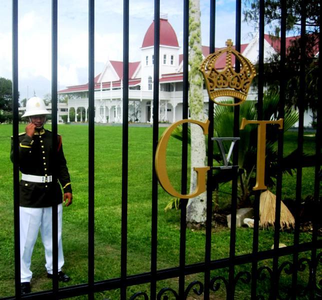 Royal Palace.Nukualofa Tonga