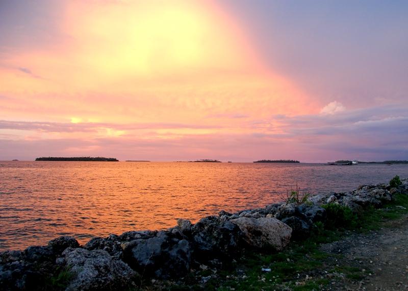 Sunset off Vuna Road