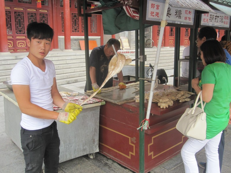 Ginger Candy; Tianjin Specialty Snacks and Street Food