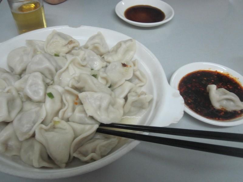 Boiled Jiaozi (Dumplings)