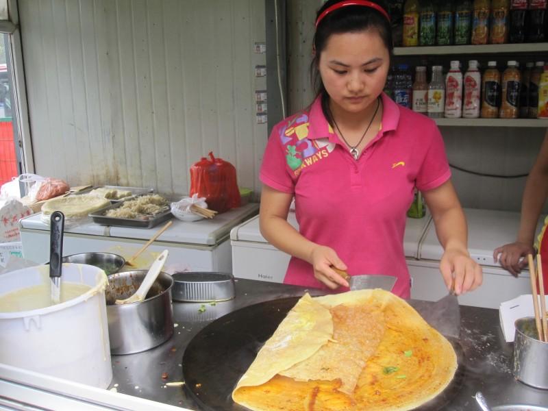 Chinese pancake, Jian Bing Guo Zi