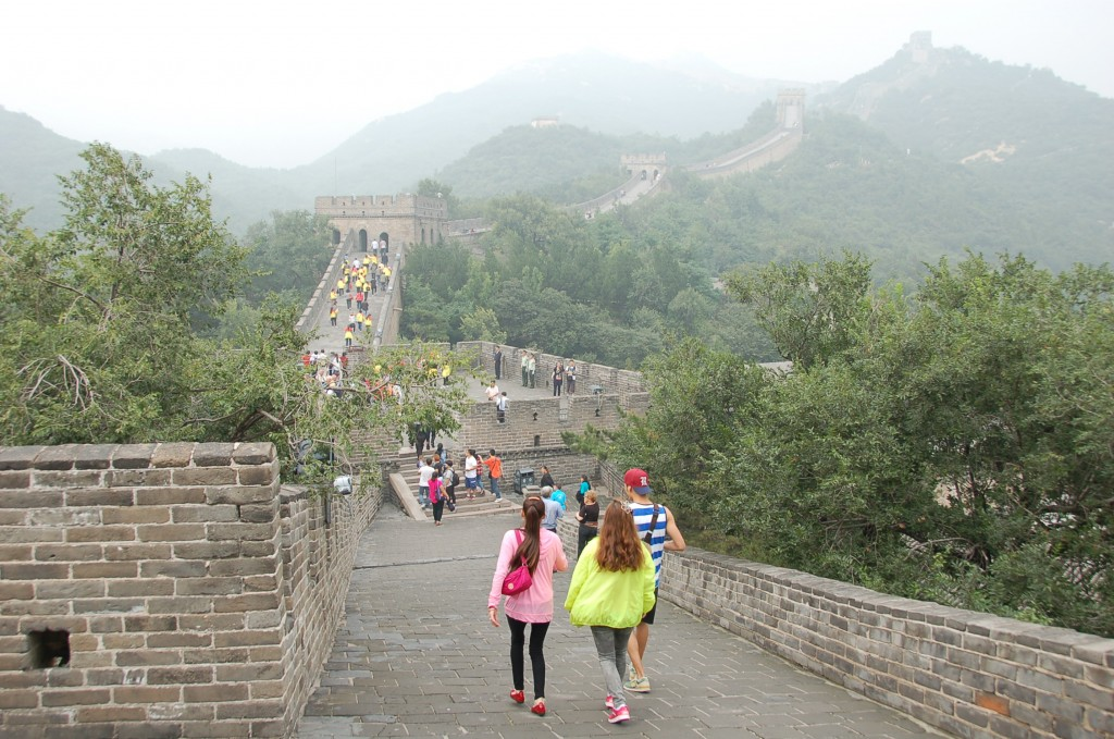 Tourist Population at Great Wall on a Monday