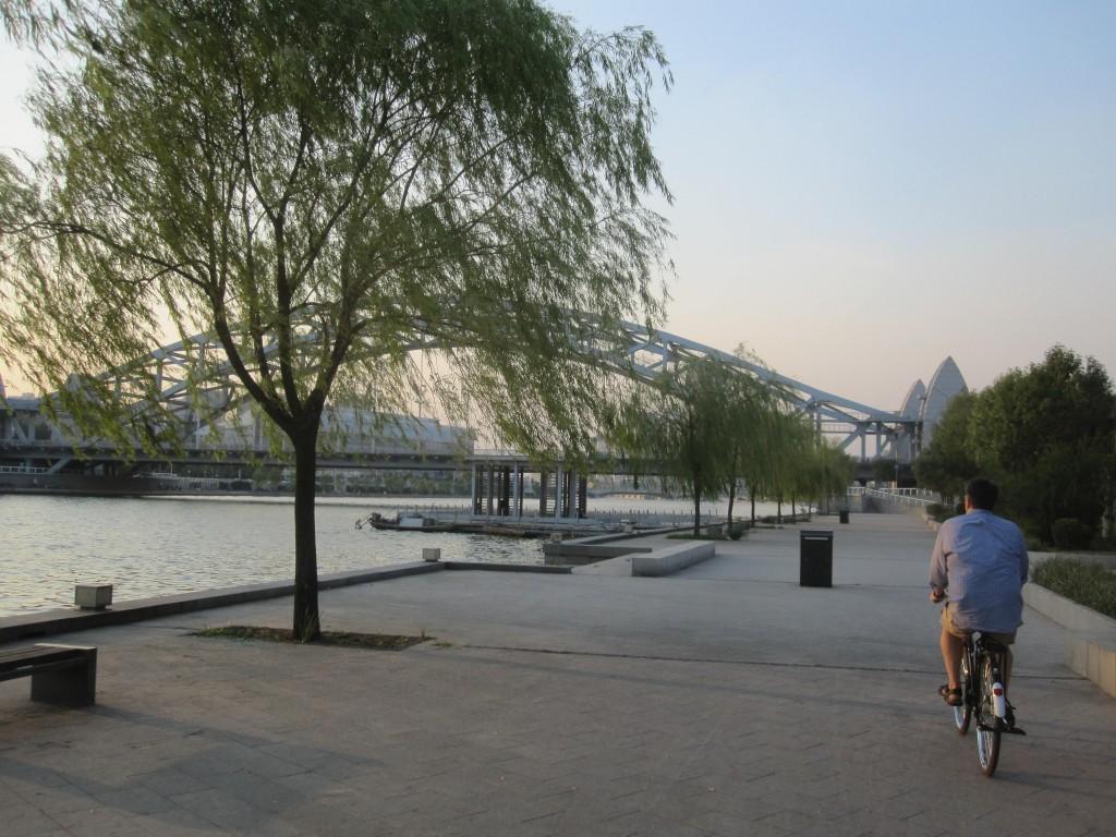 Riverwalk along the Haihe