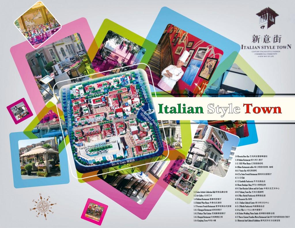 TJ-Plus Italian Style Town Map