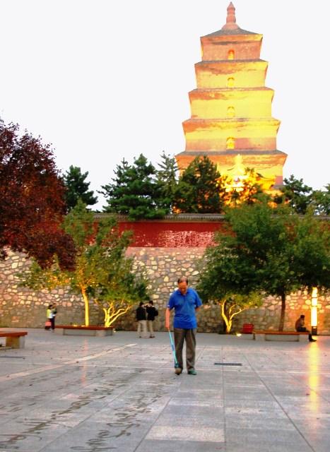 Big Wildgoose Pagoda. Xian China
