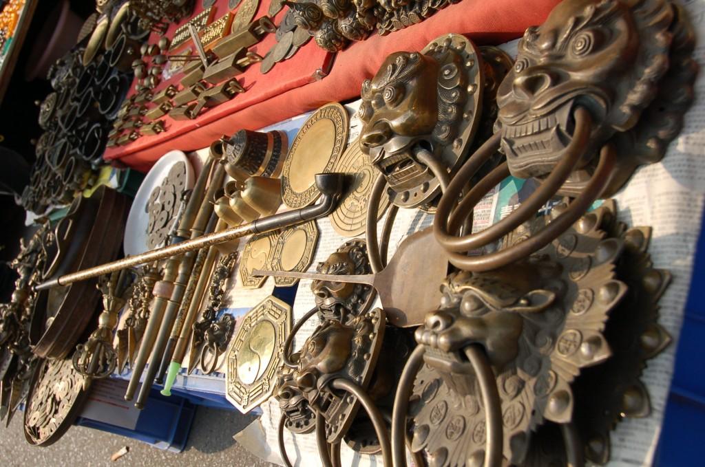 Brass medley at Tianjin Street Market