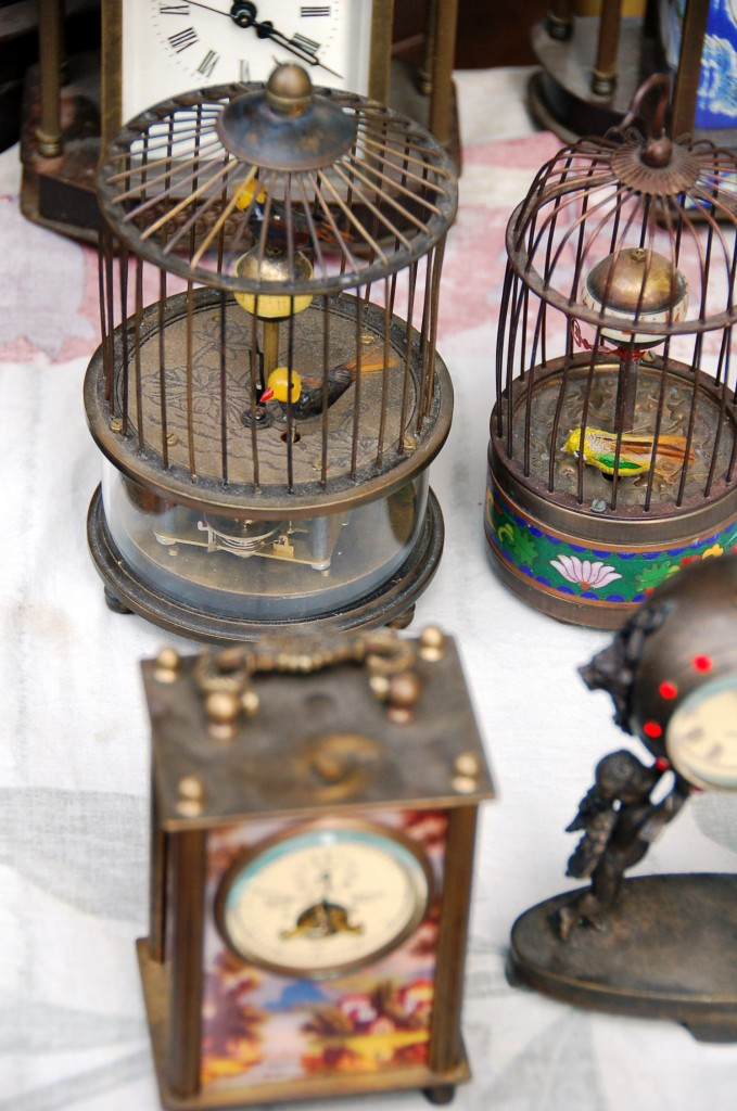 Antique Clocks at Tianjin Antique Market