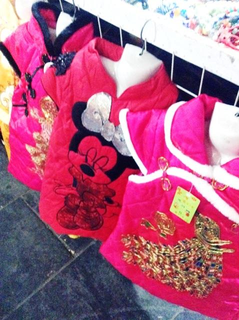 Fashion choices at Xian Muslim Quarter Night Market