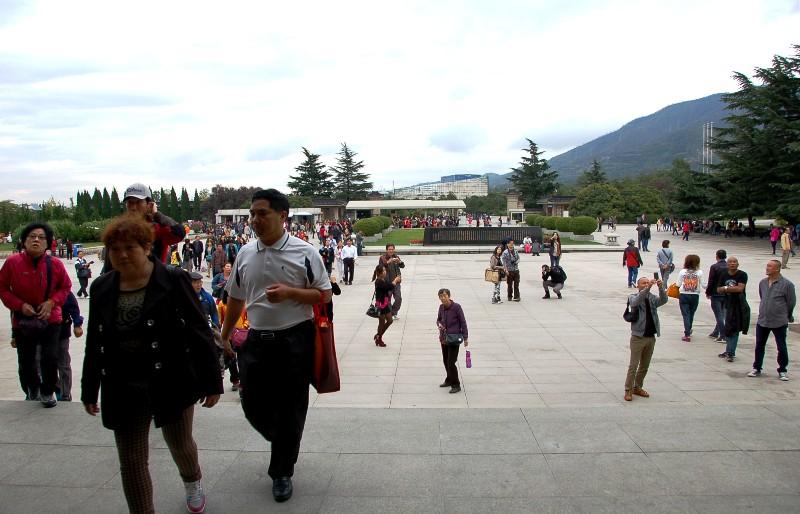 Terracotta Warriors Museum Outdoor Area.Xian China